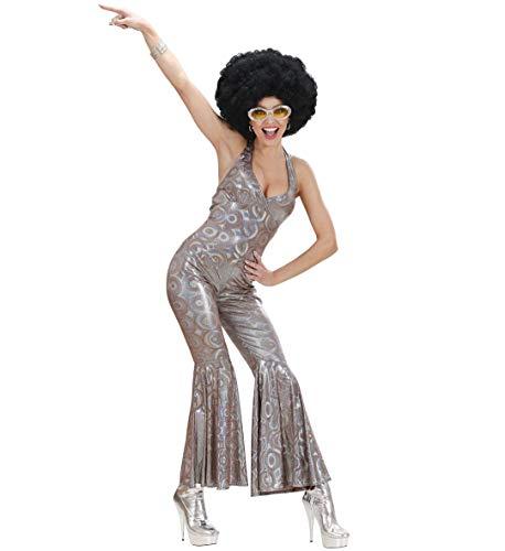 Costume Carnevale Donna Anni 70 Tuta Olografica Travestimento Disco Fever *11346 - M