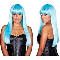 Pleasure Wigs Women's Star Wigs, One Size, Blue
