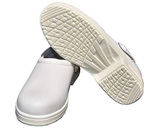 Emanhu Trading Antistatische Anti-Rutsch Stahlkappe Sicherheits-Schuhe SB Arbeitsschuhe Klinik Berufsschuh (45)