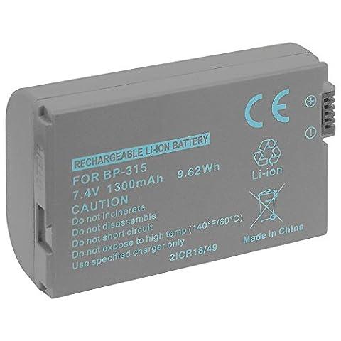 Battery BP-315 for Canon HV10 / Optura