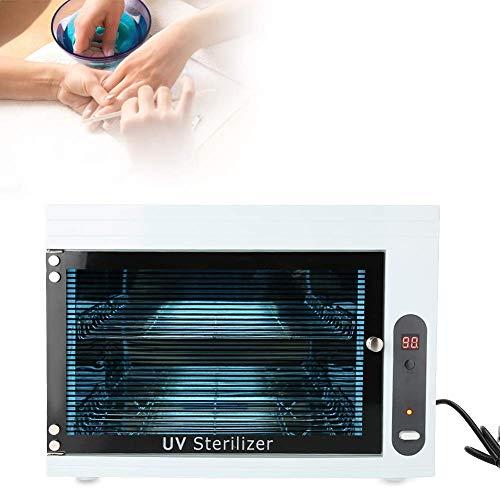 UV-Sterilisator-Kabinett,Gesichtshaut-Schönheitspflege-Nagel-Kunst-Werkzeug-Ausrüstungs-Desinfektions-Maschine,Unterwäsche-heißer Tuch-kleiner Kleidungs-Desinfektions-Kasten für,White - Kunst-kabinett