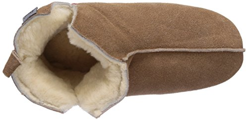 Gevavi  330 Pantoffeln Kastanie, Pantoufles, doublure chaude femmes Marron - Braun (braun(chestnut) 25)