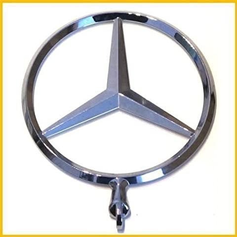 Mercedes-Benz Emblem Stern Motorhaube C-Klasse W202 W203 W204 W205 E-Klasse W124 W210 W211 W212 S-Klasse W140 W220 W221 W222