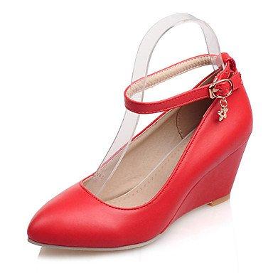 Zormey Les Talons Des Femmes Printemps Été Chaussures Formelle Partie Similicuir &Amp; Boucle Talon Robe De Soirée US8 / EU39 / UK6 / CN39