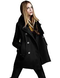 cappotto molto elegante nero donna