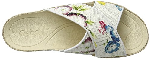Gabor Shoes Fashion, Ciabatte Donna Multicolore (multicolor 45)