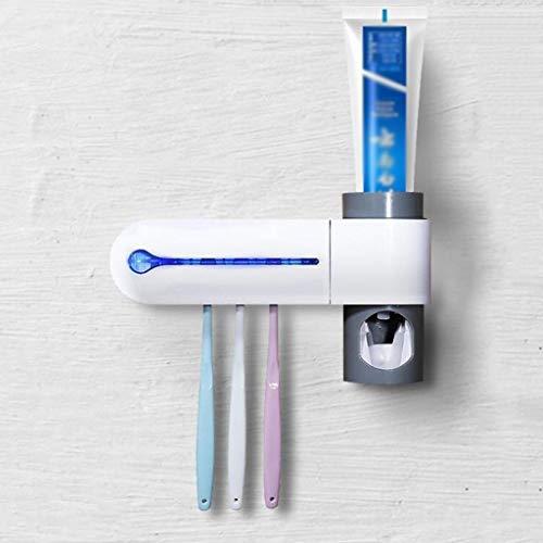 AMYAO Esterilizador Ultravioleta, Cepillo de Dientes Titular Wall Mounted bacterias Pasta de Dientes...