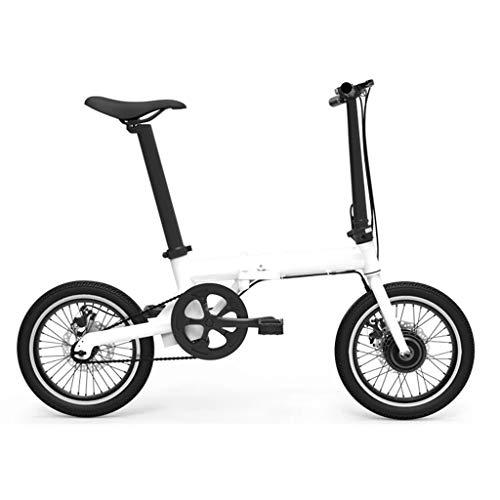 Bici elettriche Bicicletta Elettrica A 16 Pollici Pieghevole Bicicletta Elettrica in Lega di Alluminio Bicicletta Bicicletta al Litio Bicicletta, Vita Dinamica 60 Km