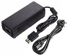 Replacement Microsoft Xbox 360 Slim Power Supply Pack 135W Brick AC Adapter & UK Plug