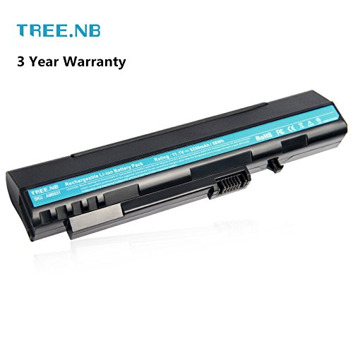 Tree.NB 5200mAh 6 cellule batterie per portatili UM08A31 per ACER Aspire One 10.1