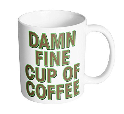 Damn Fine Cup of Coffee 11 Oz Tasse 11 oz weiß -