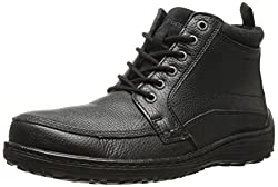 Hush Puppies Mens Bradley Belfast Lace-up Boot Black 11.5 D(M) US