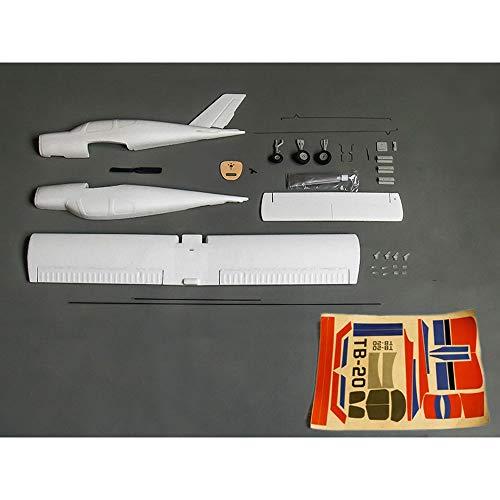ELVVT Kreative Starrflügel Flugzeuge/Flugzeug TB20 EPO Flugzeug KIT RC Flugzeug RC Modell DIY Kit Kinder Und Erwachsene Geburtstag (Größe : TB20 air Machine) (Sie Einen Rc-flugzeug Bauen)