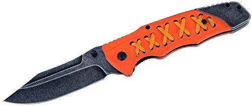 Puma TEC Couteau de Poche en Acier AISI 420, Finition délavé, Multicolore, Taille Unique