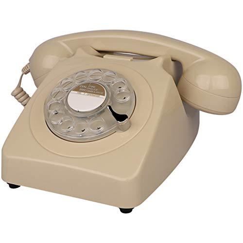 Interfono telefónico antiguo cuerda. Diseño retro