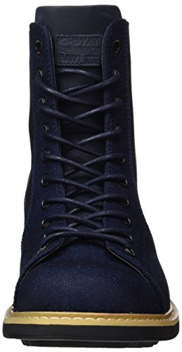 G-STAR RAW Roofer, Bottes Motardes Homme Bleu (Dk Navy 881)