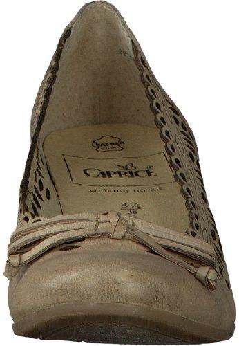 Caprice 9-22205-28 femme chaussures cuir beige Beige