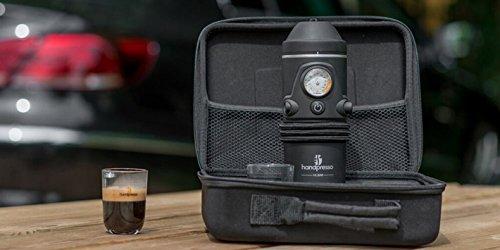 Handpresso 48266 Coffret Machine à Expresso Portable pour la voiture dosettes ESE ou café moulu Noir 26 x 21 x 9,5 cm image 2