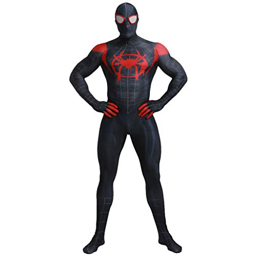 wthfwm Unisex Kinder Spiderman 3D Cosplay Kostüm Spider Man Superheld Body Anzug Overalls Halloween,Women Siamese-XL