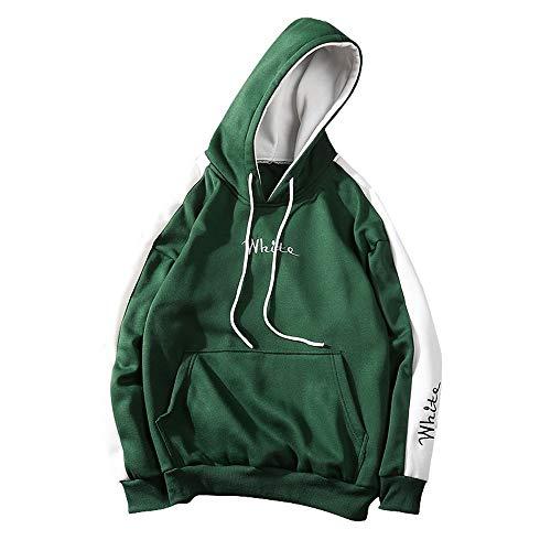 CICIYONER Herren Basic Kapuzenpullover Sweatjacke Pullover Hoodie Sweatshirt Baseball-Uniform M-5XL