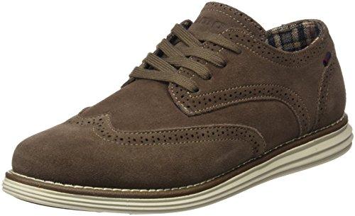 Yumas Uomo Andreus scarpe classiche Marron Size: 41