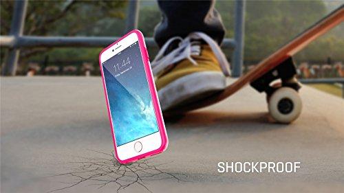 iPhone 6 6S Plus 14 cm Fall, Hülle, Case True Color® Real HD Camo Baum Gras Stroh Hunter Slim Hybrid Hard Back + weich TPU Bumper Schutz Langlebig [True Schützen Serie] + kostenlosem Stylus und Displa rose