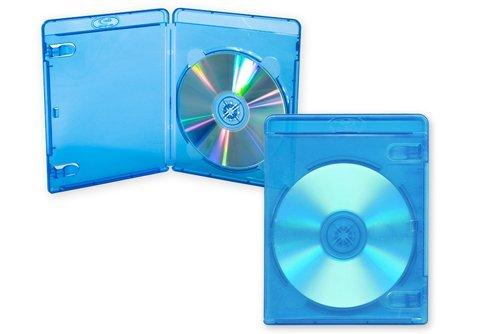 Cajas de almacenamiento para discos Blu-Ray de 11 mm de Branded Dragon Trading® (50 unidades)