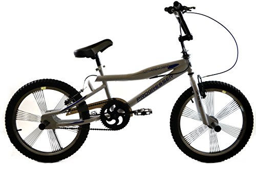 BMX BIKE 20'' FREESTYLE 4 x PEGS Jugend Fahrrad PROGRESSER GROSSE AUSWAHL Weiß