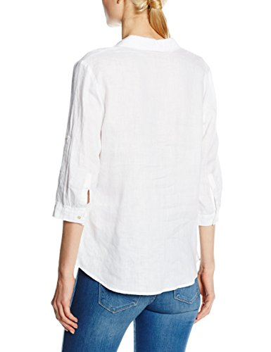 Bonita 1205324, Blouse Femme Blanc - Weiß (ceramic white 2223)