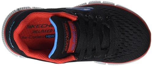 Skechers Jungen Equalizer 2.0-Post Season Sneakers Schwarz (Bkrd)
