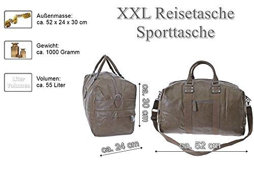 TASCHE Raumwunder die perfekte Citytasche Reisetasche Travelbag Reisegepäck Sporttasche Gepäcktasche (Coffee) Camel