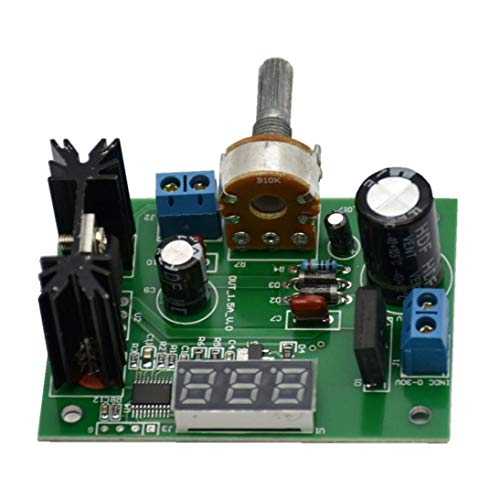 WEIHAN Einstellbare Spannungs-Regler Step-Down-Modul Ac/DC 5V 12V LED-Anzeige - -