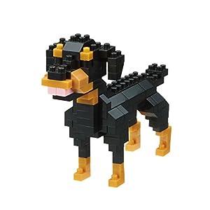 Nanoblock- NBC263 Rottweiler Juguete, (Kawada NBC253)