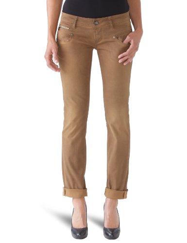 Freeman T. Porter - Pantalone da donna, beige(f215 corona), taglia produttore: 42
