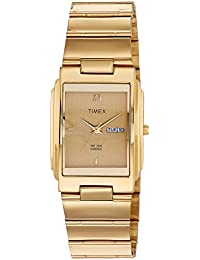 Timex Analog Gold Dial Men's Watch-WT06