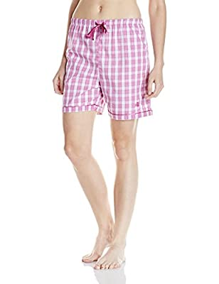 Jockey Women's Cotton Shorts (1310-0103-TS008_Multicoloured_M)