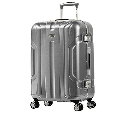 Eminent X-Dream, Unisex-Erwachsene Koffer Silber silber m