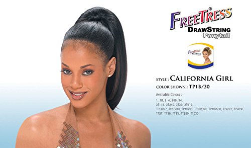 Freetress Drawstring Ponytail California Girl 1