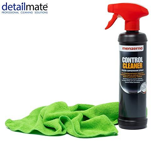 detailmate Set - Menzerna Control Cleaner, 500ml - Entfetter + Mikrofasertuch 40x40 cm