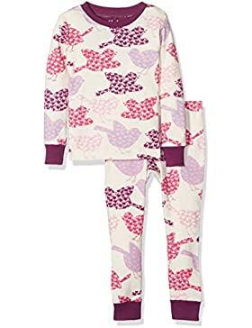 Hatley Long Sleeve Printed Pyjama Sets, Set Pigiama Bambina