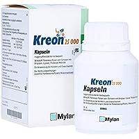 Preisvergleich für KREON 25.000 Hartkps.m.magensaftr.überz.Pellets 100 St Hartkapseln mit magensaftresistent überzogenen Pellets