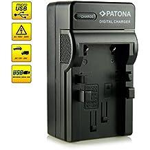 ¡Novedad! – El primero cargador de batería con conexión micro USB · adecuado para la batería NB-3L para Canon Digital Ixus II   Ixus Iis   Ixus i   Digital 30   Ixus i5   Ixus 700   Ixus 750   Ixus II Ai AF - PowerShot SD10   SD20   SD40   SD100   SD110   SD500   SD550   IXY Digital L   L2   30 y mucho más…