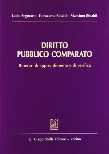 Diritto pubblico comparato. Itinerari di apprendimento e di verifica