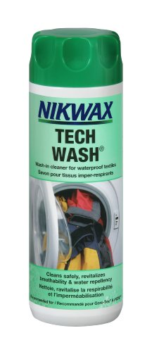 Nikwax Pflegemittel Tech Wash, 1l, Weiß, 30009 [Ausrüstung] - La Tech-bekleidung