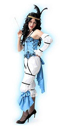 Madeleine Kostüm - KarnevalsTeufel Charleston Kostüm Madeleine 20er-Jahre Tanzkostüm Elegante Dame (42)