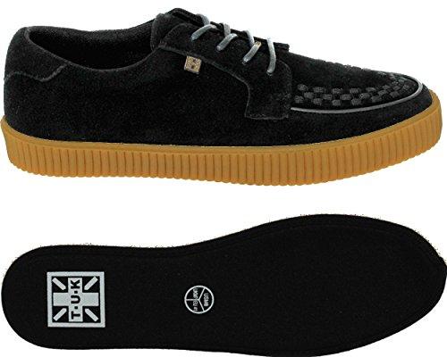 Tuk Chaussures Homme Ezc Black Suede Gum Chaussure Noir