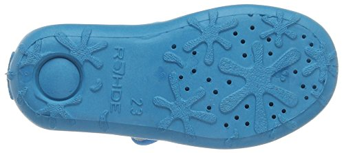 Rohde Boogy, Chaussons avec doublure froide fille Turquoise - Türkis (türkis 53)
