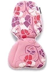 Basil prima Vista Inlay Small Cojín para asiento infantil para bicicleta Asiento Rosa Rojo Lila Flores niña 50020