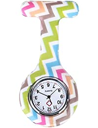 ShopyStore Style 8 Shellhard Fashion Prints Colorful Nurses Watches Doctor Portable Fob Pocket Wat