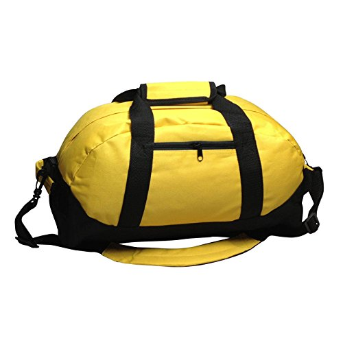 iEquip 30,5cm 35,6cm 45,7cm 53,3cm Duffle Bag, Gym, Reisetasche Zwei Ton, Unisex-Erwachsene (nur Gepäck), Yellow - MD (18